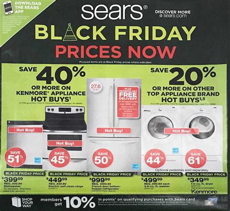 Sears Automotive Black Friday Deals Sears Pre Black Friday Ad Scan For 2016