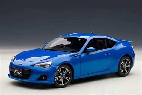 Autoart Subaru Brz Wr Blue Mica 78691 In 1 18 Scale