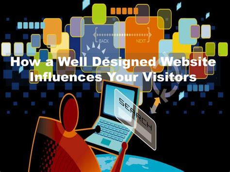 Ppt How A Well Designed Website Influences Your Visitors Well Designed Presentations