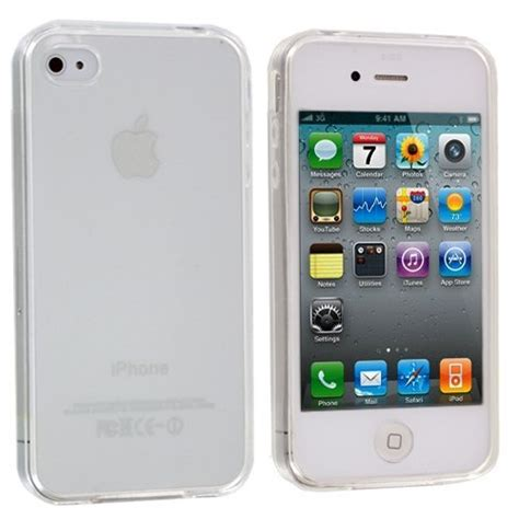 Non Packing Tempered Glass Iphone 4g Merk Norton Original generic plain tpu rubber cover for apple iphone 4 4s non retail packaging clear