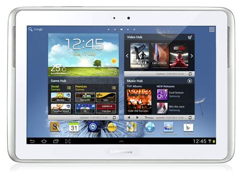 samsung android tablet samsung galaxy note 10 1 android tablet review the register