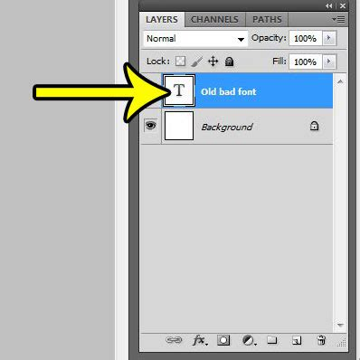 reset text tool in photoshop how to change the font of a text layer in photoshop cs5