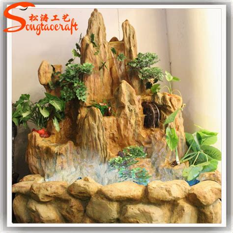 cascate da interno resina fontane da interno e cascate waterscape decorativi