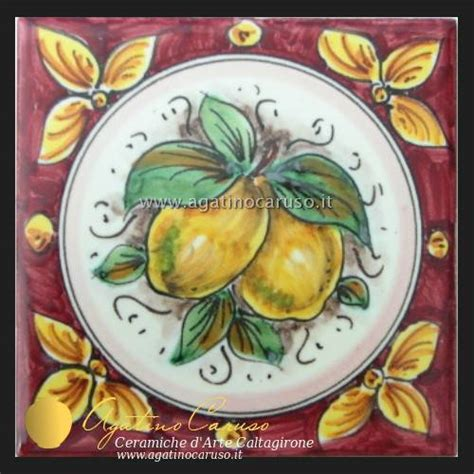 ceramica caltagirone piastrelle mattonelle in ceramica di caltagirone dipinte a mano