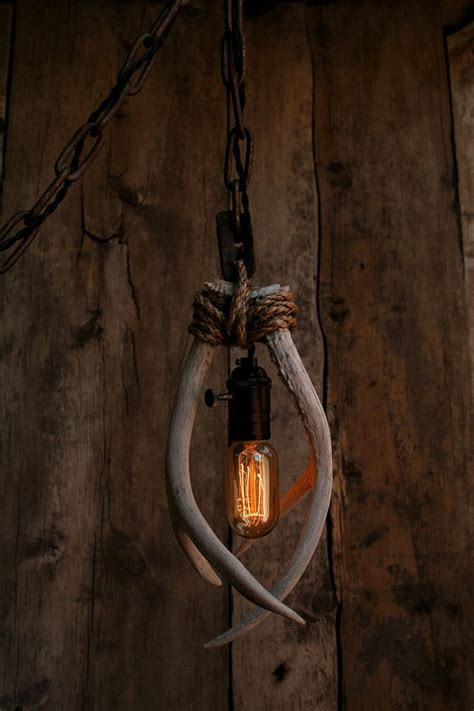 hanging deer lights 17 best ideas about rope l on driftwood