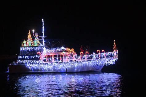 holiday boat parade lights up king harbor