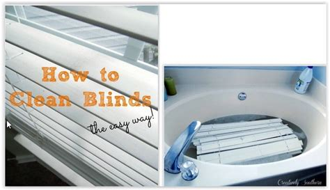 Wash Blinds In Bathtub by 1000 Images About Diy Cleaning On How To