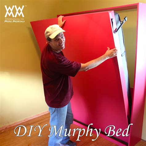 easy diy murphy bed how to build a murphy bed woodworking for mere mortals