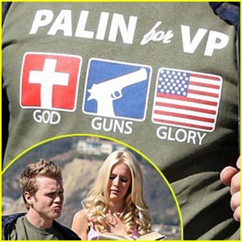 Spencer Pratt And Heidi Montag Endorses Palin by Heidi Spencer Vote Mccain Palin Heidi Montag