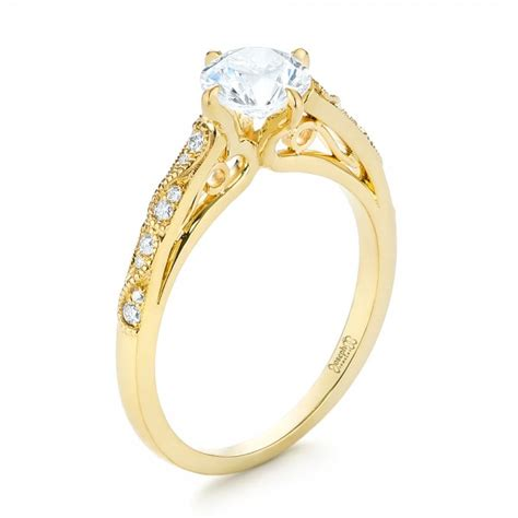 solitaire engagement ring 103297
