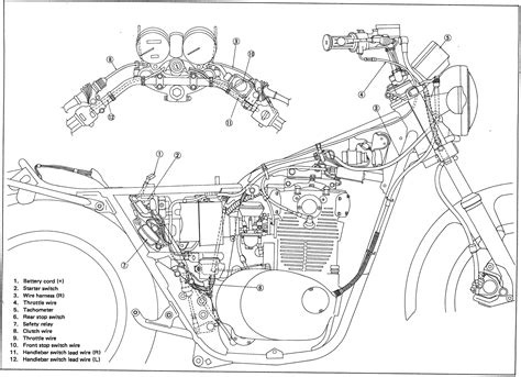 xs650 wiring diagram for 78 free electrical free