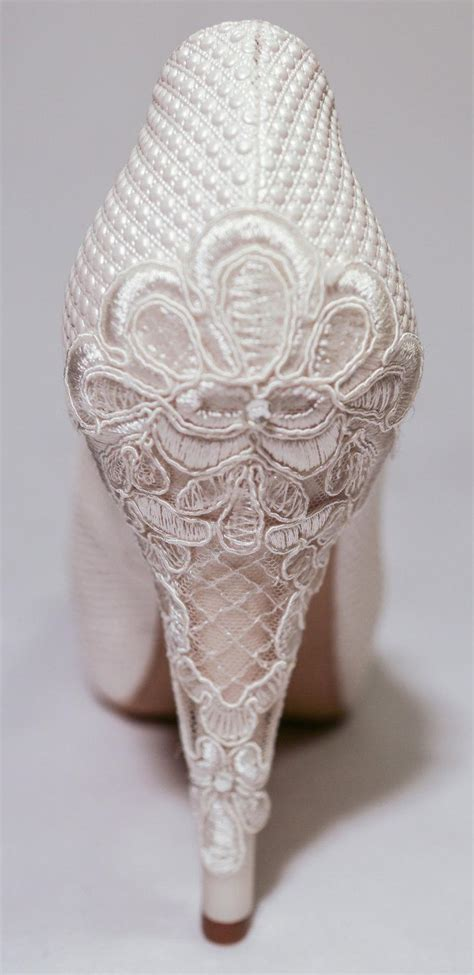Wedding Shoes High Heels Ivory by Wedding Shoes Ivory Bridal Shoes Ivory Wedding Shoes