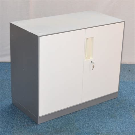 Silver Cabinet by Silver White 760h Storage Cabinet