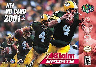 nfl qb club  acceptable nintendo pc video games ebay