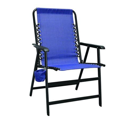 caravan sports suspension blue patio chair 80012000020