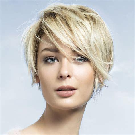 differentes coiffures cheveux courts exemple coupe de