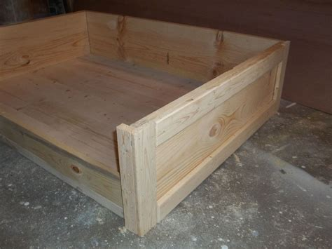 wooden dog beds hometalk diy large wooden dog bed