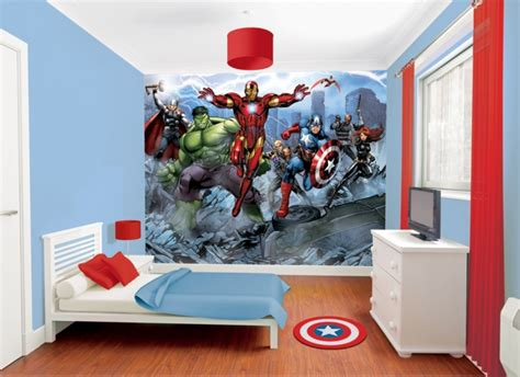 avengers bedroom theme fotomural the avengers fotomurales decorativos