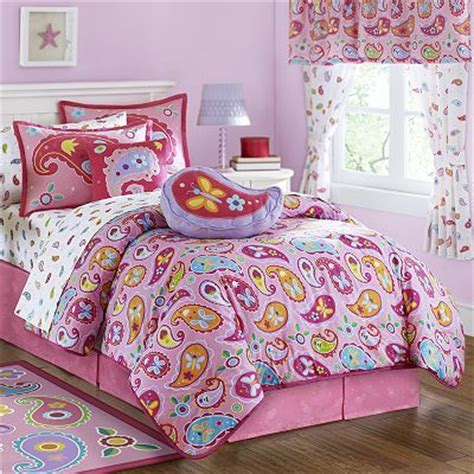 kohls girls bedding love some of everything paisley girl bed set found at