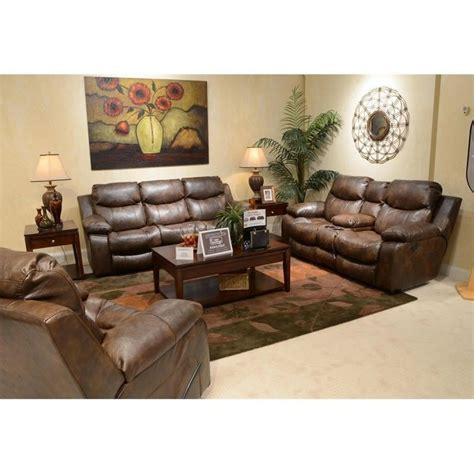 Catnapper Sectional Sofa Catnapper 3 Power Reclining Console Leather Sofa Set 64311 64319 643106