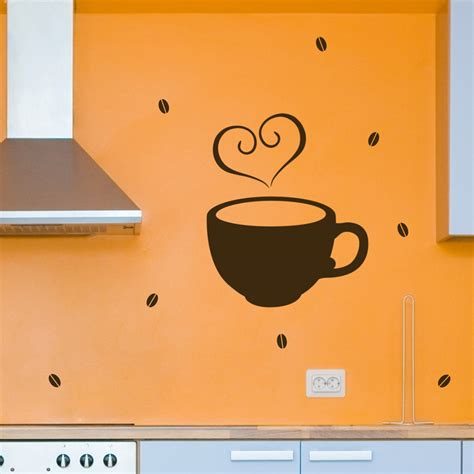 coffee wall stickers coffee wall decals stickers graphics