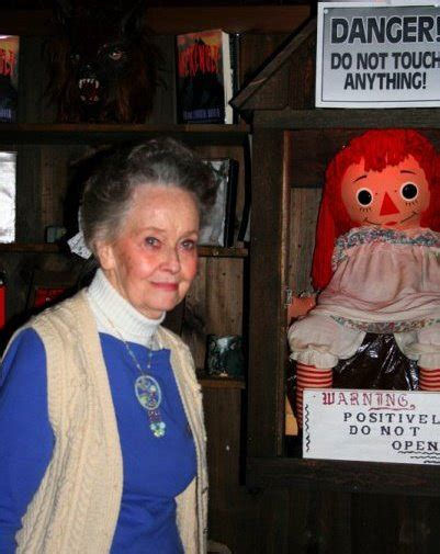 annabelle doll voice the warrens