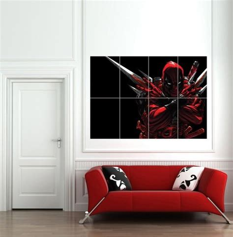 Deadpool Bedroom by Ultimate Deadpool Gear Cave
