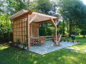 backyard renovations custom pergola and patio