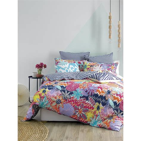 mod by linen house rukin quilt cover set
