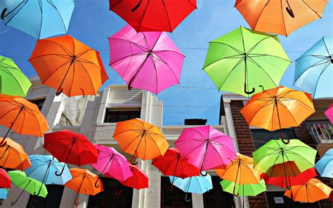 Wallpapers Colorful Umbrellas Colourful Images