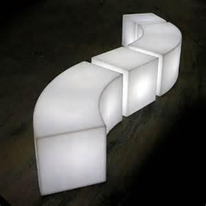 snake banc lumineux slide blanc objet lumineux