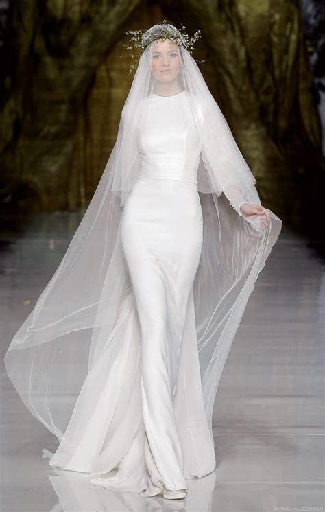 Brautkleid Langarm Schlicht by Wedding Dress Trend 2014 Minimal Chic Coordinated For You