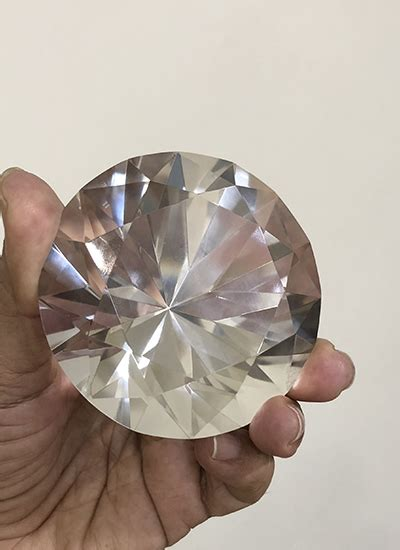 diamond shape quartz crystal pranic healing