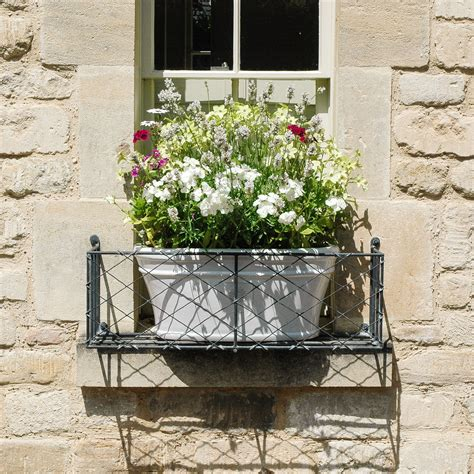 Metal Window Planter by Window Boxes Window Planters Garden Requisites