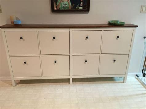 shoe dresser or shoe cabinet ikea hacked hemnes shoe cabinets bedroom pinte