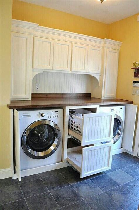 Laundry Room Makeovers Laundry And Laundry Rooms On Pinterest Slide Out Laundry