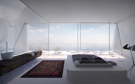 futuristic home interior hornung and jacobi architecture villa f