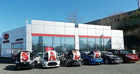 toyota rent a car stamford toyota of stamford stamford ct 06902 car dealership
