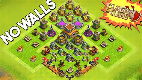 all clash of clans wall upgrades no walls on my base clash of clans upgrading buildings