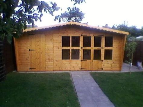 summerhouseshed combination   sheds  fencing