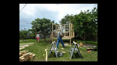 build an a frame how to build a playhouse in 12 easy hours youtube