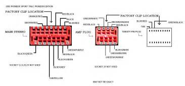 pioneer car audio wiring diagram pioneer car stereo