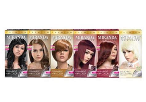 Miranda Hair Color Brown 60ml jual cat rambut miranda premium hair color big