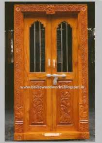 Room Door Design by Carpenter Work Ideas And Kerala Style Wooden Decor Pooja