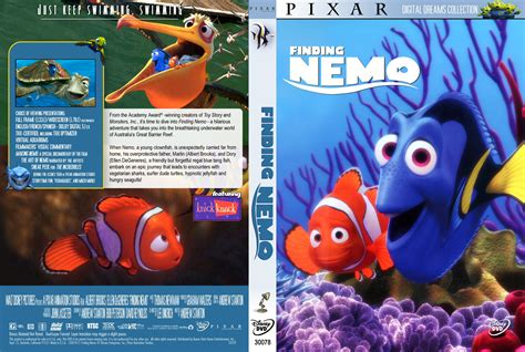 covers box sk coral reef adventure 2003 high quality dvd blueray movie finding nemo dvd cover