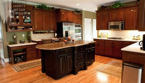 atlanta cabinet refinishing faux finishes for kitchen creative cabinets faux finishes marietta cabinet