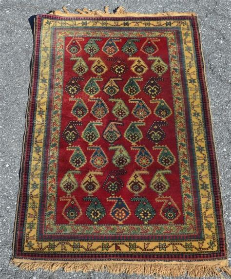 Pattern Area Rugs Vintage Geometric Floral Pattern Area Rug