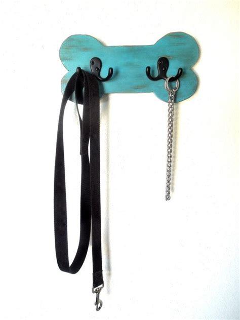 leash holder leash holder wood leash holder leash hook distressed turqu