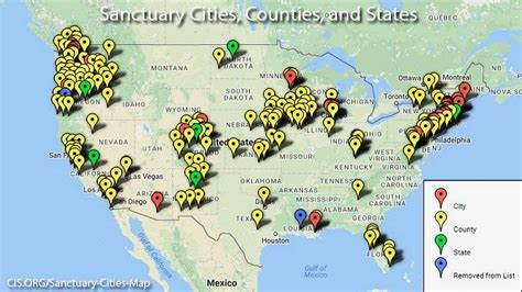 how many towns are in the us sanctuary cities not good enough california fast tracks