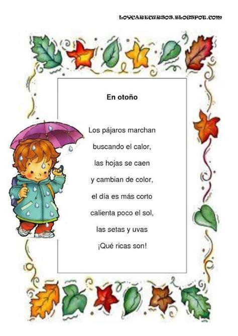poema para un cantante poemas y rimas infantiles del oto 241 o para ni 241 os oto 241 o